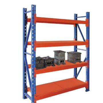 light duty multi tier clothes metal warehouse storage rack for market