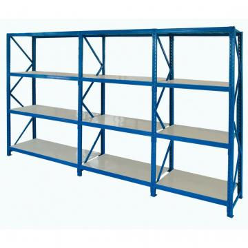 High Quality And Durable Store Plastic Shelves Rack